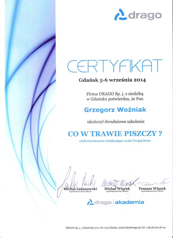 Certyfikat-Drago-2014