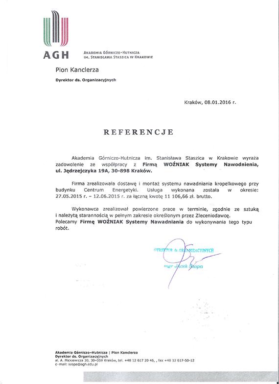 Referencje-AGH-Kraków-2