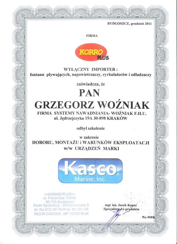 certfikat-KASCO-2011