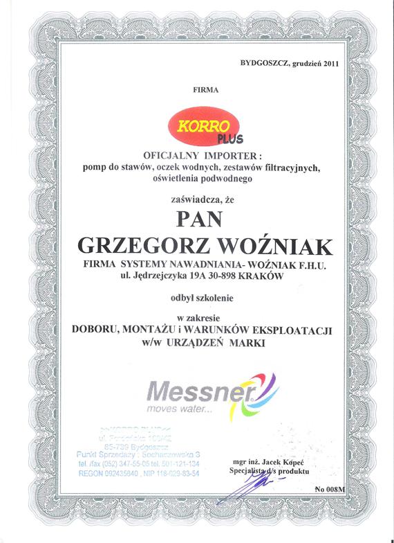 certfikat-MESSNER-2011